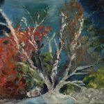 Fondo Marino 2.0 pintado por victoria medina profesora de la escuela de dibujo y pintura artemusas