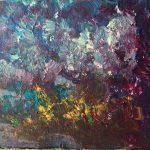 Fondo marino 3 pintado por victoria medina profesora de la escuela de dibujo y pintura artemusas