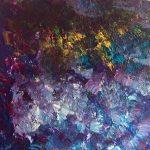 Fondo marino 4 pintado por victoria medina profesora de la escuela de dibujo y pintura artemusas