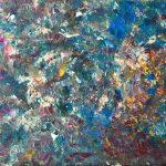 Fondo marino 6 pintado por victoria medina profesora de la escuela de dibujo y pintura artemusas