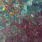Fondo marino 7 pintado por victoria medina profesora de la escuela de dibujo y pintura artemusas