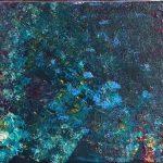 Fondo marino pintado por victoria medina profesora de la escuela de dibujo y pintura artemusas