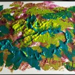 Sinfonía de Mozart pintado por victoria medina profesora de la escuela de dibujo y pintura artemusas