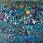 fondo marino 5 pintado por victoria medina profesora de la escuela de dibujo y pintura artemusas
